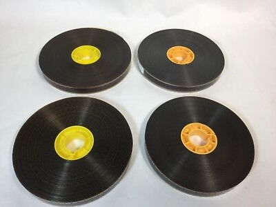 X4 LOT 1960's Home Movies? Burlesque 16mm Color Silent Stag Type Tease Films vtg