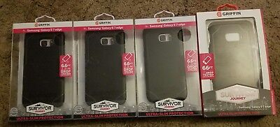 Lot of 4 Samsung Galaxy S7 Edge Griffin Survivor Phone Cases
