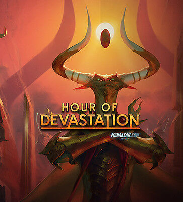 100 x Assorted MTG Hour of Devastation Common Cards from Manaleak Birmingham