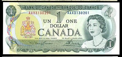 BC-46cA-i,1973 $1, Lawson Bouey Replacement Prefix AAX Litho. Back, Unc.