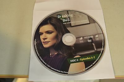 Breaking Bad Third Season 3 Disc 2 Replacement DVD Disc Only 35-320