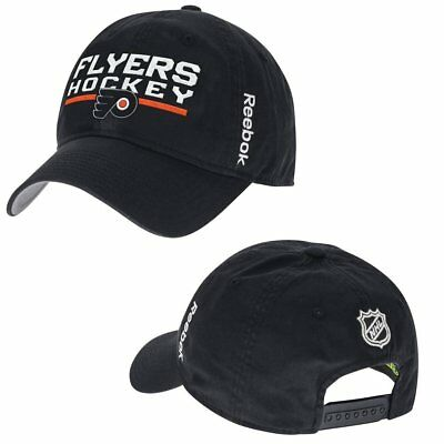 fcd137351bb ... sweden philadelphia flyers reebok nhl slap shot slouch adjustable hat  be5d8 665a1
