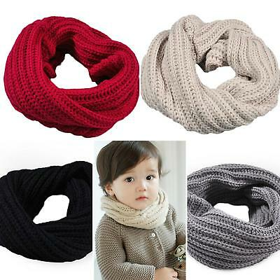 kids girls boy toddlers babies scarf SNOOD KNITTED woolly crochet hats gloves UK