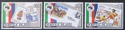 1984 Norfolk Island Stamps - Ausipex '84 - Set of 3 MNH