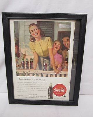 "Drink Coca Cola Picture - Home on the Porch - ""Come On Over...Have A Coke"""