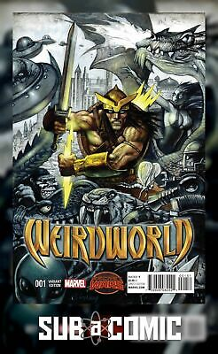 WEIRDWORLD #1 BISLEY VARIANT (MARVEL 2015 1st Print) COMIC