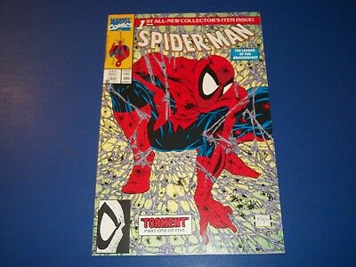 Spider-man #1 Green and White Variant Classic McFarlane Cover VF+ Gem WOW!