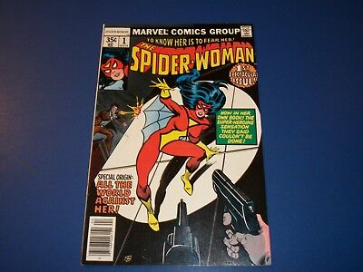 Spider-Woman #1 Bronze Age Key 1st Issue Wow VF Beauty