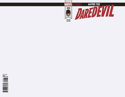 DareDevil # 600 Blank Variant Cover NM Marvel Pre Sale Ships Mar 28th