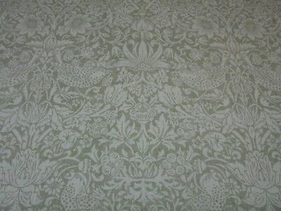 William Morris Curtain Fabric  Pure Strawberry Thief  4 Metres Dk3905