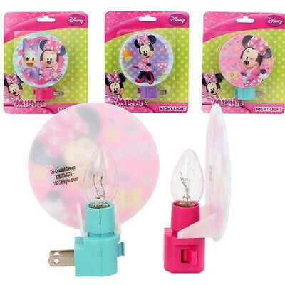 "Disney Minnie Mouse Night Light - Minnie Mickey Mouse, Daisy Duck, 4.5"", 48-PACK"