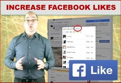 Increase likes, fans, followers and comments on F.book and get more of it
