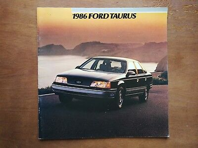 1996 Ford Taurus Sales Brochure - with Paint Colors - 38 Pages