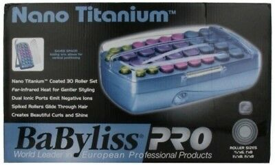 Babyliss Pro nano titanium 30 piece roller hairsetter