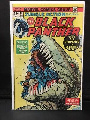 Jungle Action #14 The Black Panther  Marvel Comic Book  Hot!  New Movie