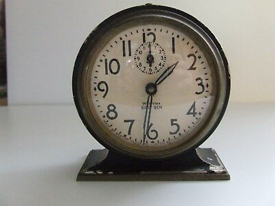 Vintage Westclox Baby Ben Alarm Clock For Spares Or Repair