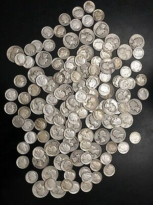 Lot of 90% Silver Junk US Coins