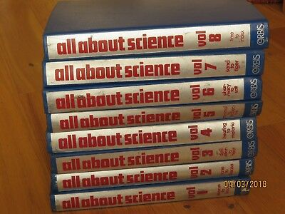 All About Science Orbis. Complete Set in Blue Binders. Good condition.