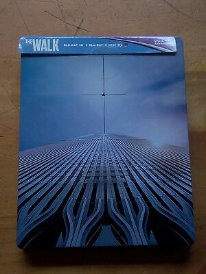 Walk 3D Steel Book Edition (3D Blu Ray+Blu Ray+Digital)