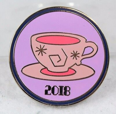 Disney Parks Pin 2018 Booster Pack Mad Tea Party Teacups Park Icons Attractions