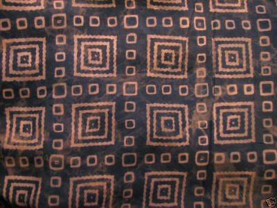 Unisex Primitive Brown and Black Geometric Rayon Sarong Heavy Weight FREE SHIP!