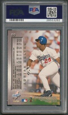 2000 Skybox Metal Adrian Bletre Dodgers Autograph Signed Card #80 Psa/dna