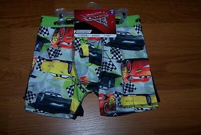 Size (8) Boys Athletic Boxer Briefs 2-Pk Disney Pixar Cars 3