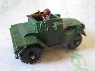 1973 Corgi Juniors Military Green Daimler Armored Scout Car #84 Britain