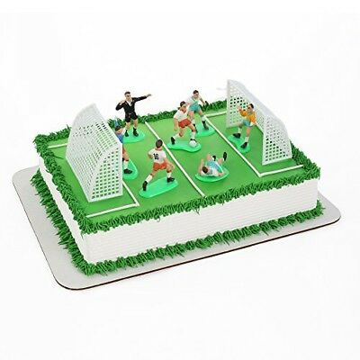 ARSENAL Football Club Round Birthday Cake Topper Decoration