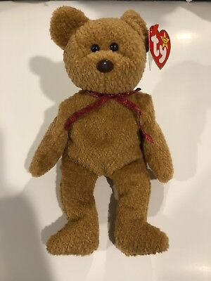 Ty Beanie baby Curly the Bear