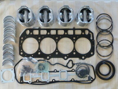 Yanmar 4TNE98 Overhaul Kit / Pistons, Rings, Bearings, Gasket Set