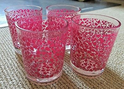 Liberty of London for Target Pink Floral Tumblers: 4, NWT!