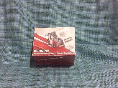 Bernina Cut'n'Sew Attachment 334146040 Foot #578 Hard Case With instructions