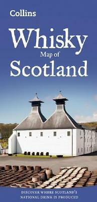 Whisky Map of Scotland by Collins Maps
