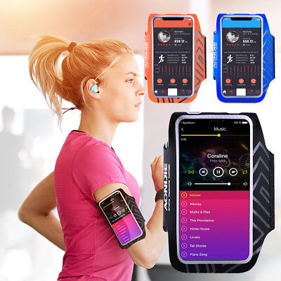Outdoor Sport Running Gym Armband Arm Band Strap Bag Large Size for Mobile Phone