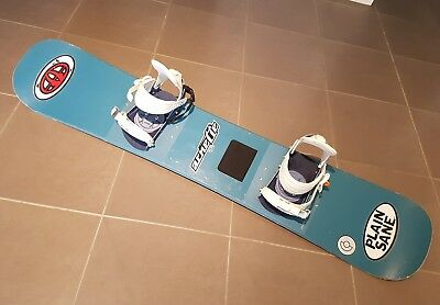 Snowboard (ex rental Plain Sane) & Preston bindings (bought new used for 4 days)