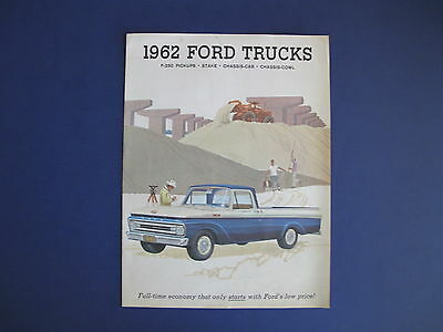 1962 Ford Trucks Full Line Sales Brochure C5714