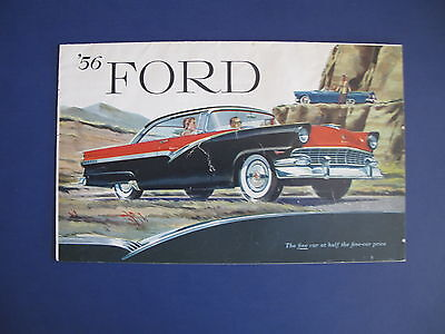 1956 Ford Full Line Sales Brochure C5713
