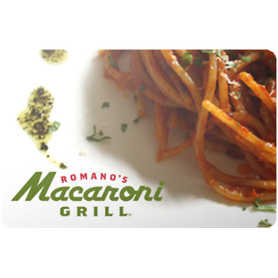 Macaroni Grill Gift Card $50 Value, Only $37.84! Free Shipping!