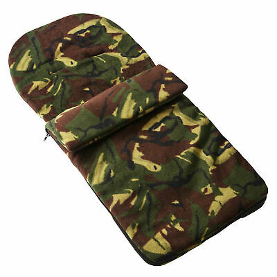 Fleece Footmuff Compatible With Joolz Geo Twin - Camouflage