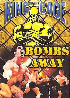 King of the Cage 8 - Bombs Away (DVD, 2001, 2-Disc Set) NEW! Region 1