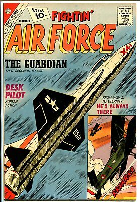 Fightin' Air Force #30 1961-Charlton-jet fighter-WWI-high grade-NM