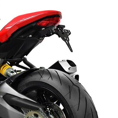 Support de Plaque + éclairage Ducati Monster 1200 / S 17-18 Ibex Pro