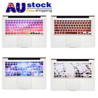 "AU Silicone Keyboard Skin Cover Protector Film For 13"" Apple Macbook Air Retina"
