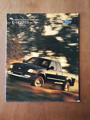 1998 Ford F-Series Trucks Full Color Sales Brochure