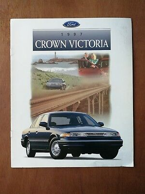 1997 Ford Crown Victoria Full Color Sales Brochure