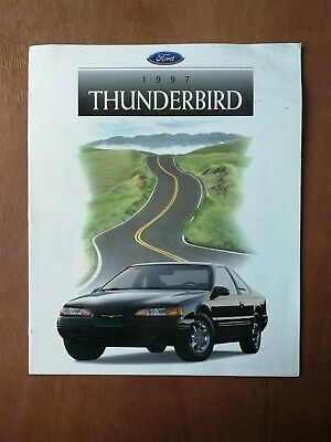 1997 Ford Thunderbird Sales Brochure - 12 Pages