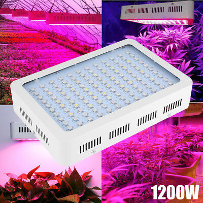 1200W LED Grow Light Hydro Full Spectrum Hydroponic Indoor Veg Bloom Plant Lamp
