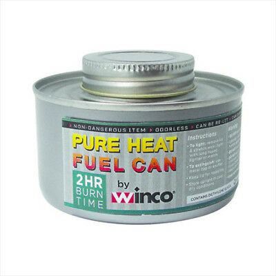 Winco C-F2, 2-Hour Wick-Type Chafing Fuel Can with Twist Cap (1-Piece)