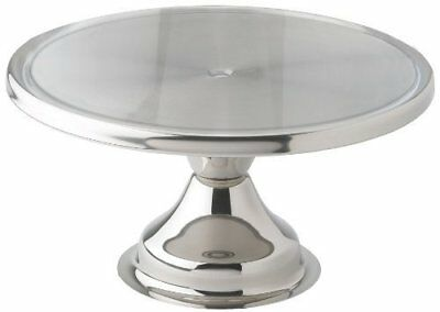 Winco CKS-13 Stainless Steel Round Cake Stand, 13-Inch, Set of 6 by Winco